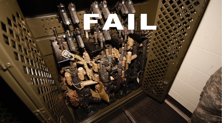Weapon Rack Fail: Did  AFB just blow $118,553?