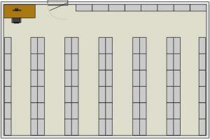 high density weapon storage