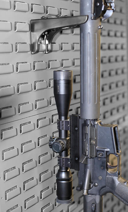 weapon storage: secureit-rifle-with-scope