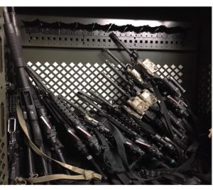 weapon rack fail