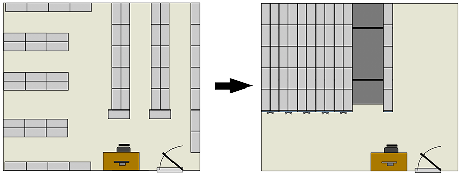 armory desing - high density system