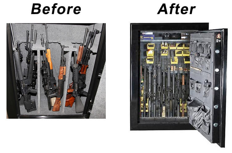gun safe upgrade