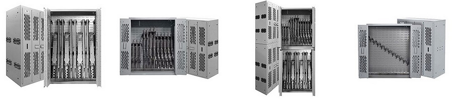 weapon rack and weapon cabinets