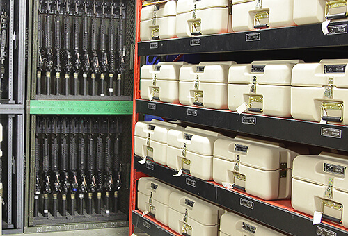 armory storage rack