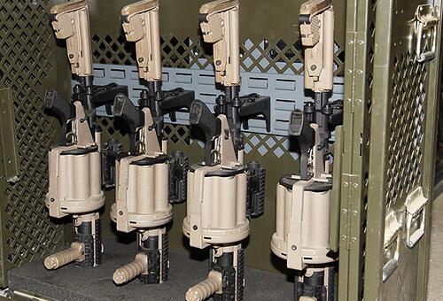 weapon rack upgrade