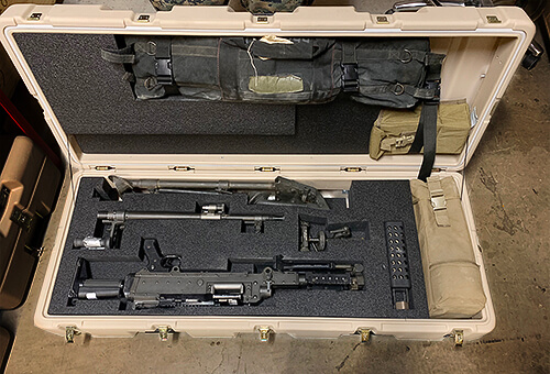 m240 case sl3 gear